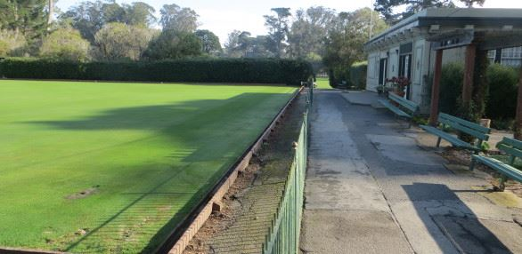 Lawn Bowling Green Renovation
