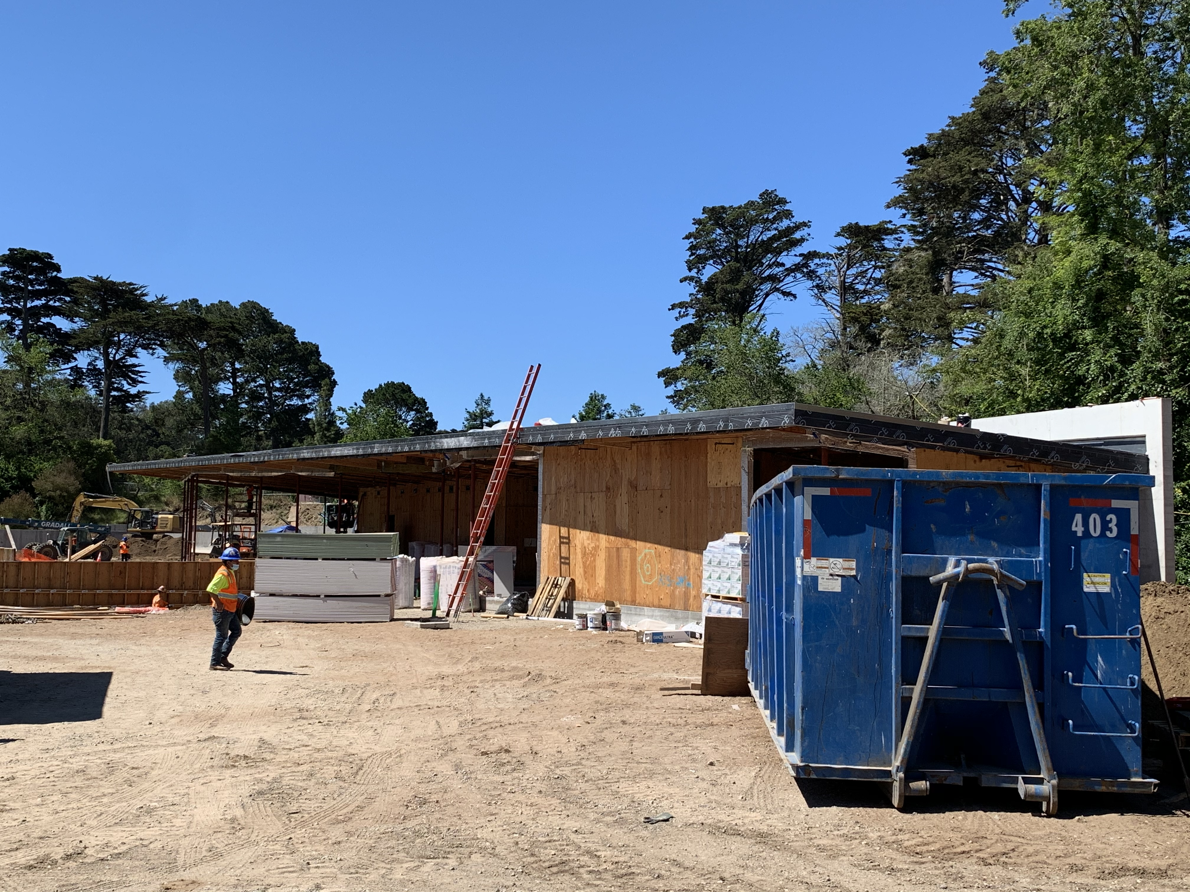 Golden Gate Park Tennis Center Construction June 2020 3