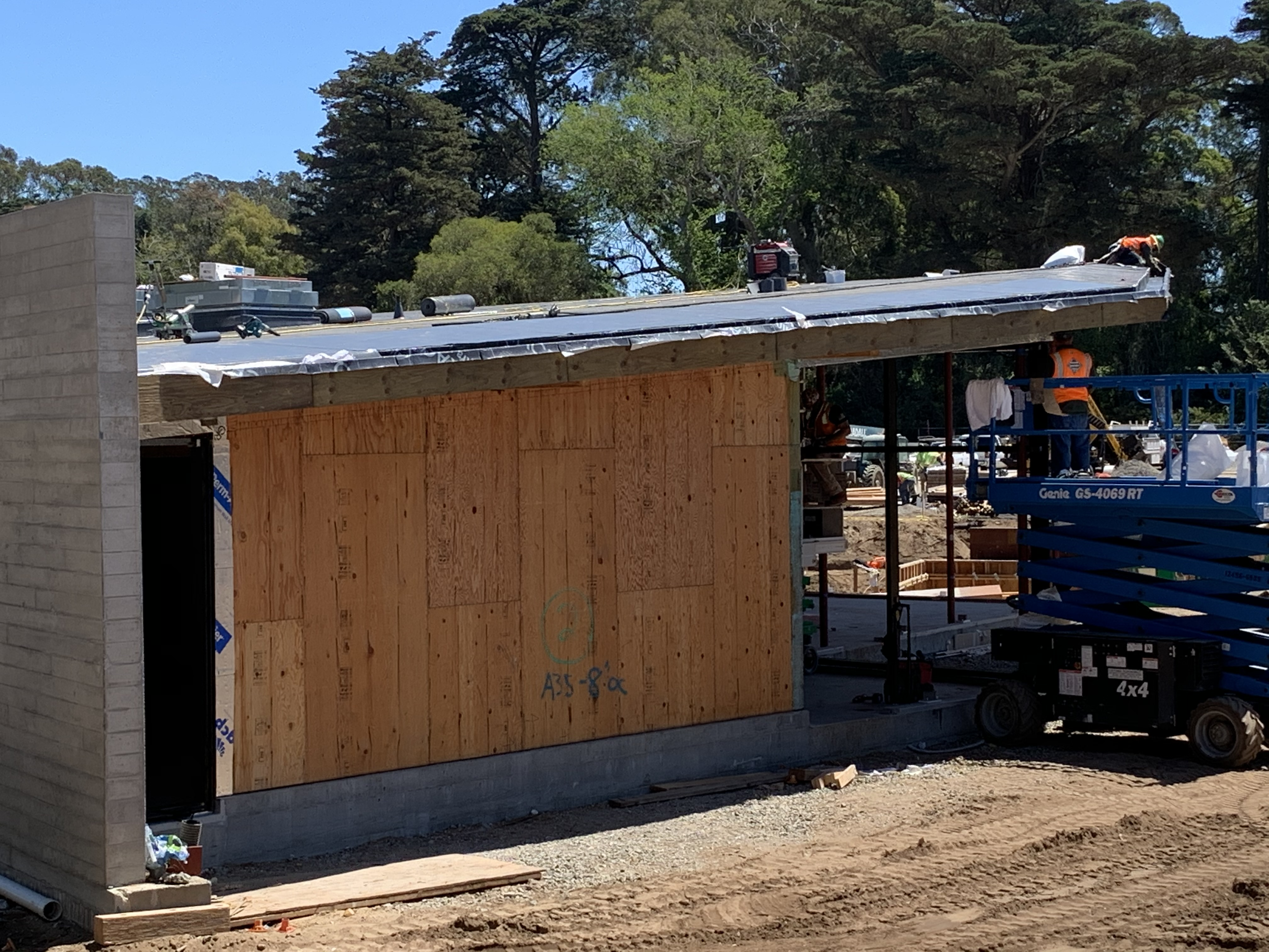 Golden Gate Park Tennis Center Construction June 2020 4