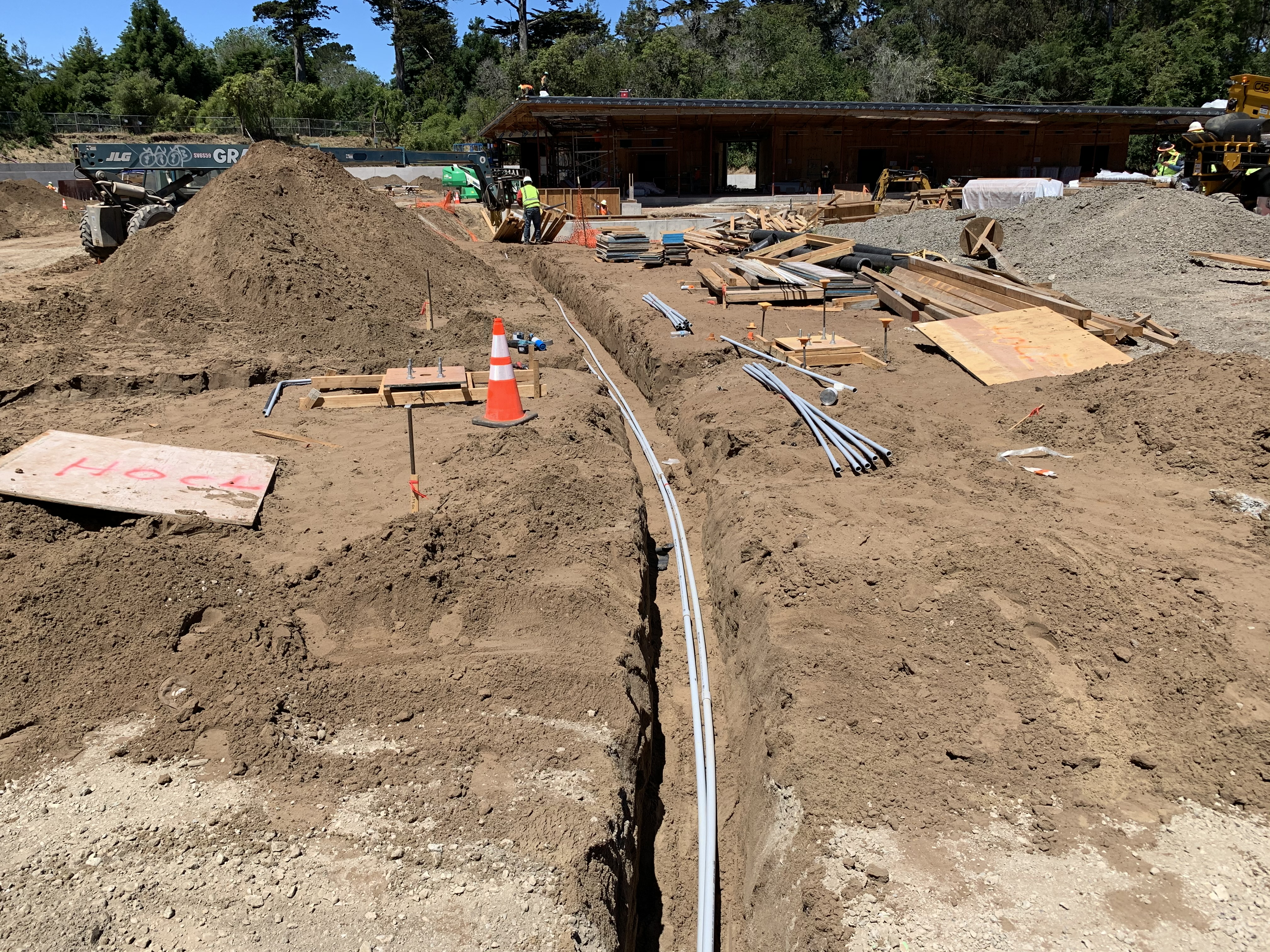 Golden Gate Park Tennis Center Construction June 2020 5