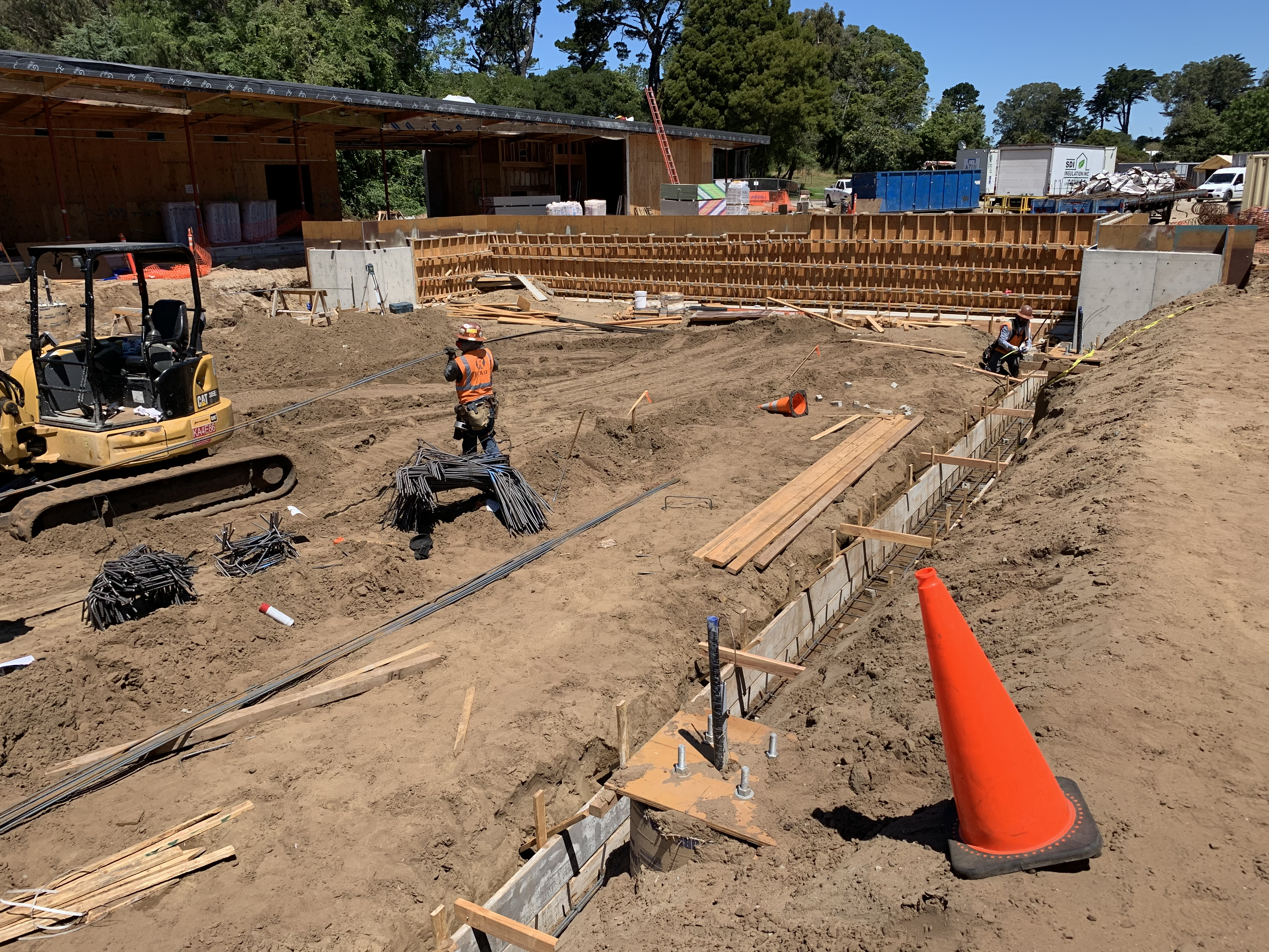 Golden Gate Park Tennis Center Construction June 2020 6