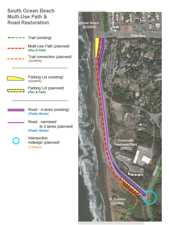 Ocean Beach FLAP Project Area Element Map