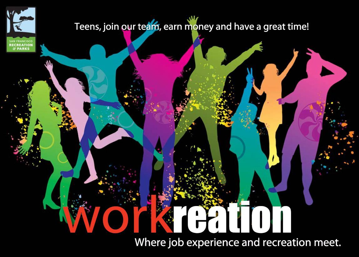 Workreation: Where job experience and recreation meet.